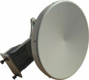 24GHz Dish Antenna 30cm 37dBiAntenna in banda 24GHz per sistemi punto-punto
