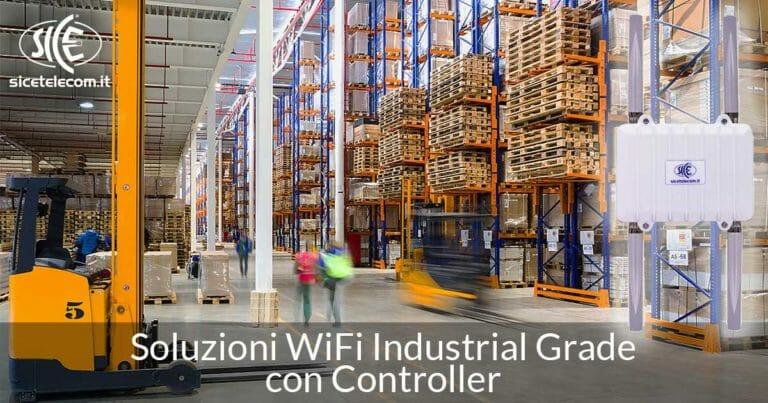 SICE: Soluzioni WiFi Industrial Grade con Controller