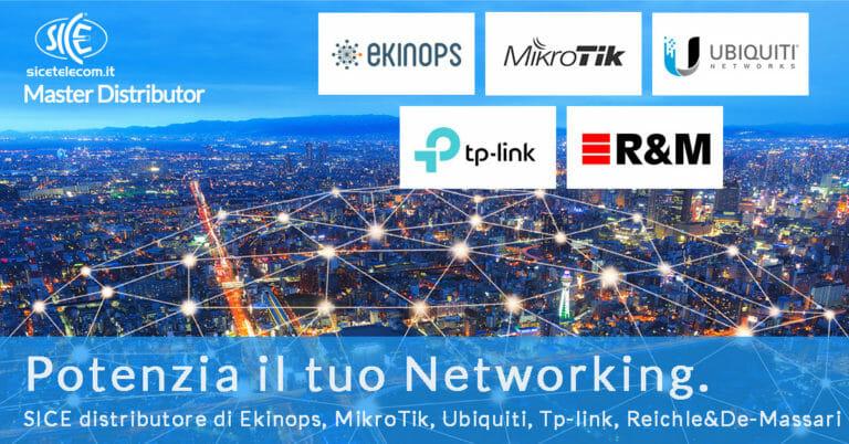 Networking: SICE distributore di Ekinops
