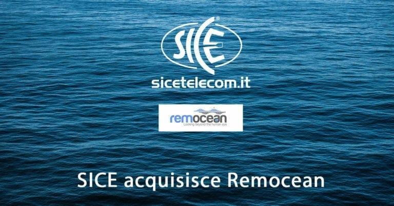 SICE acquisisce Remocean e conquista la leadership nel mercato dei radar per il monitoraggio e la sorveglianza marittima.