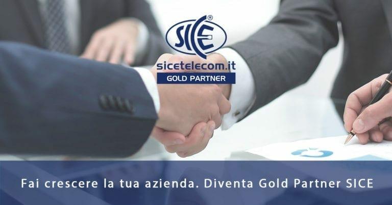 SICE: scopri il programma esclusivo per diventare Gold Partner