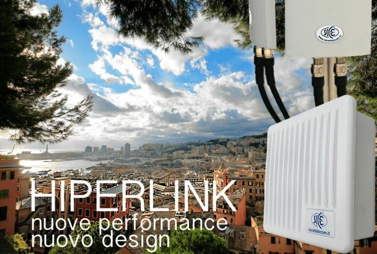 Ponti Radio 5GHz HIPERLINK 2.0: Nuove performance   Nuovo design