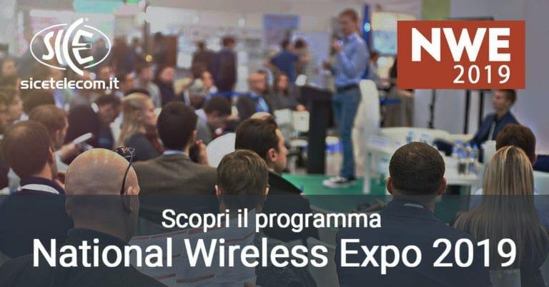 Scopri il programma del National Wireless Expo 2019