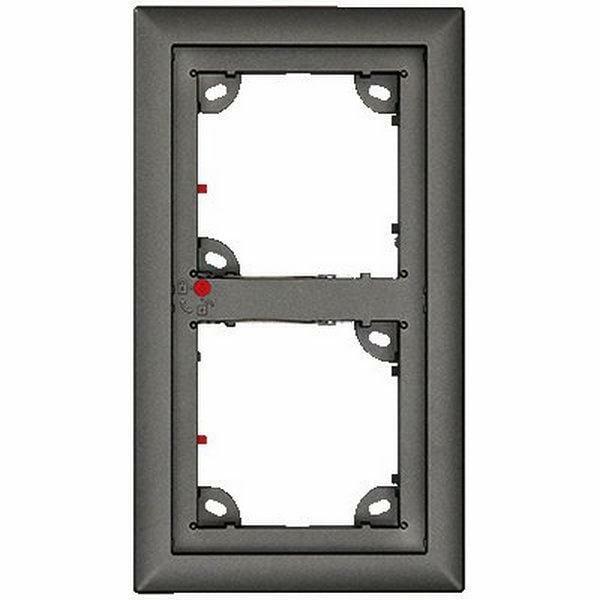 Ubiquiti OPT-FRAME2EXT-DG | Double Frame Dark Gray Compatib T25 Door Station & modules MxDis