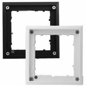 Ubiquiti OPTFLATMOUNTEXTB | OPT-FlatMount-EXT-BL FlatMount Frame per montaggio a muro black
