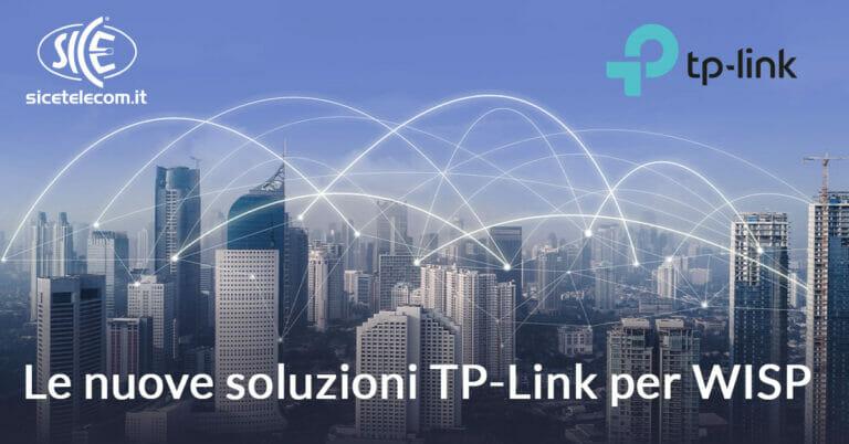 Soluzioni TP-Link per Wisp SICE, modem, router