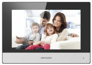 DS-KH6320-WTE1   Intercom postazione Indoor IP Display 7 TFT LCD Touch screen