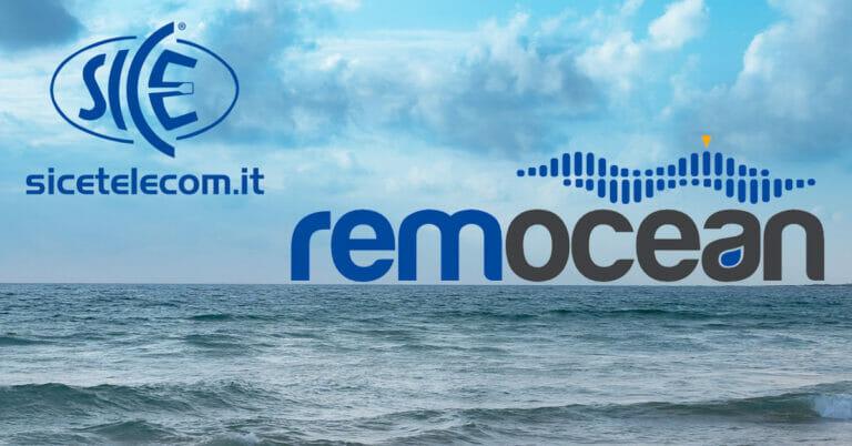 monitoraggio del mare Remocean SICE