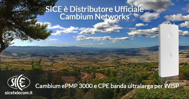 Cambium ePMP 3000 SICE distributore ufficiale