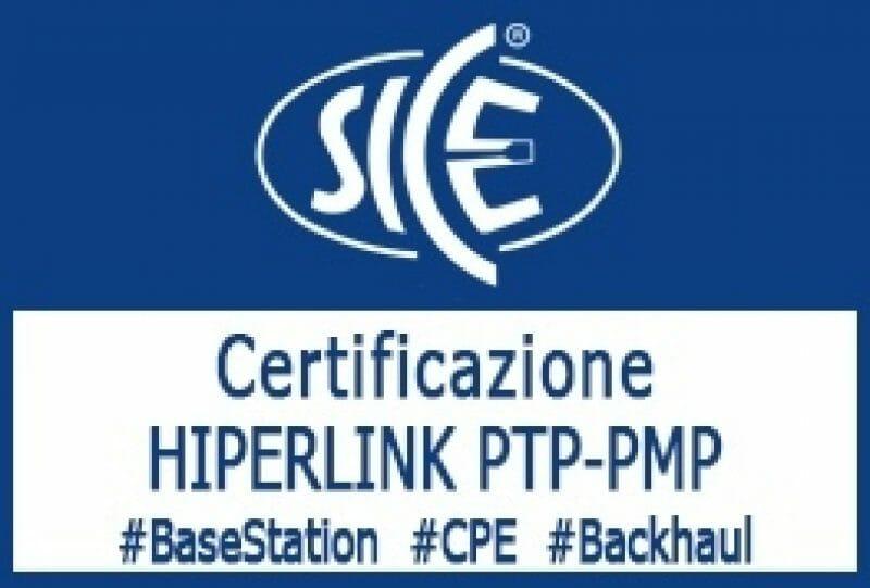5-6 Giugno 2019: Corso SICE HIPERLINK PTP-PMP
