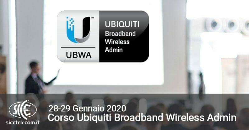 UBWA gennaio 2020