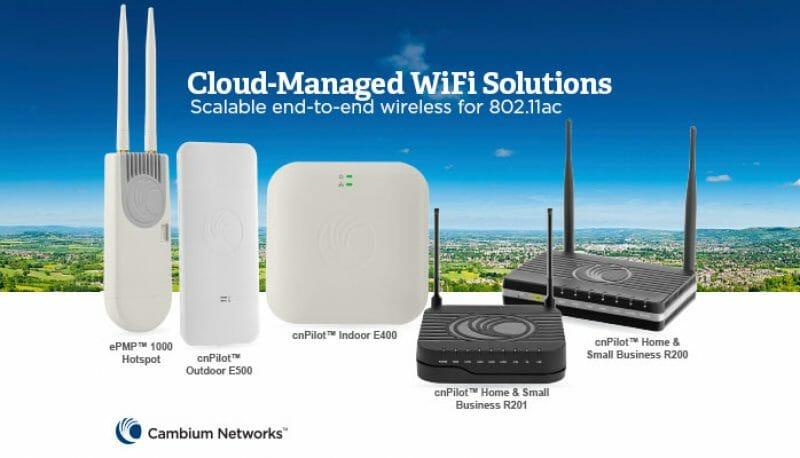 22 Ottobre 2019: Corso Italiano Cambium Networks cnPilot™ WiFi presso NWE 2019