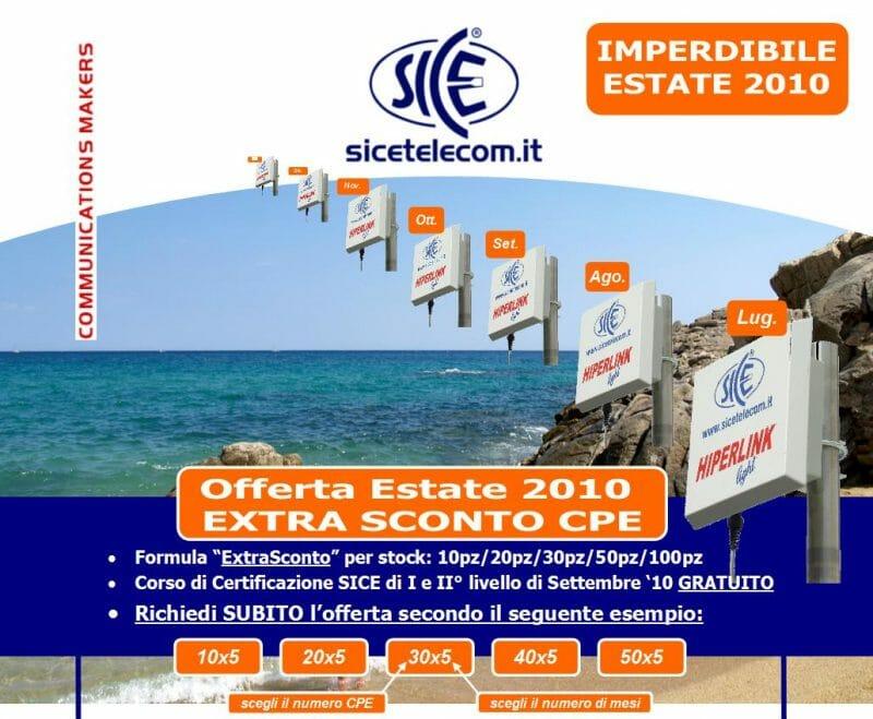 Promo CPE Estate '10: risparmia soldi