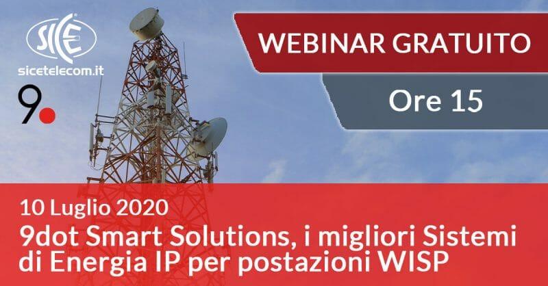 Webinar 9dot smart solutions SICE 10 luglio